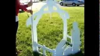 [Best Price] Teak Isle Christmas Outdoor Nativity Set Yard Nativity Scene