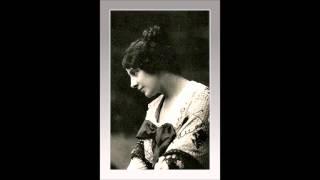 """Soprano GERALDINE FARRAR - La Bohème - """"Sì, mi chiamano Mimì""""   (1912)"""