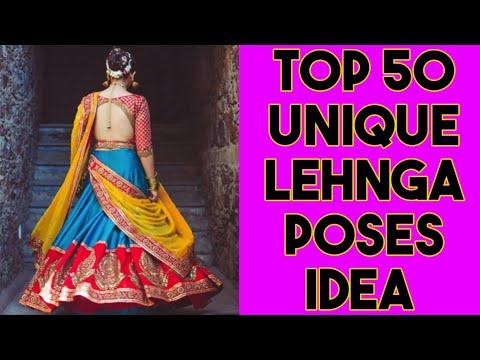 Top 50 Lehnga Pose Idea For Girls    Photography Ideas In Lehnga    #Lehngaposesidea #Sareeposesidea