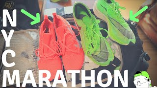 New York City Marathon Racing Shoes and Kit, making changes?