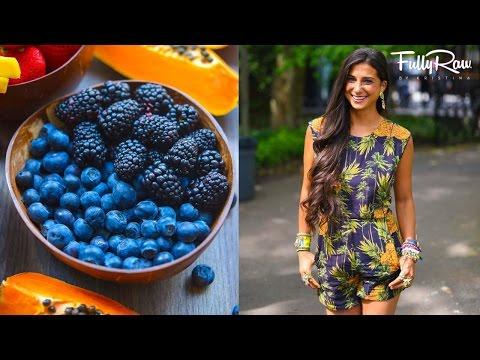 What I Eat in a Day...FullyRaw Vegan in NYC!