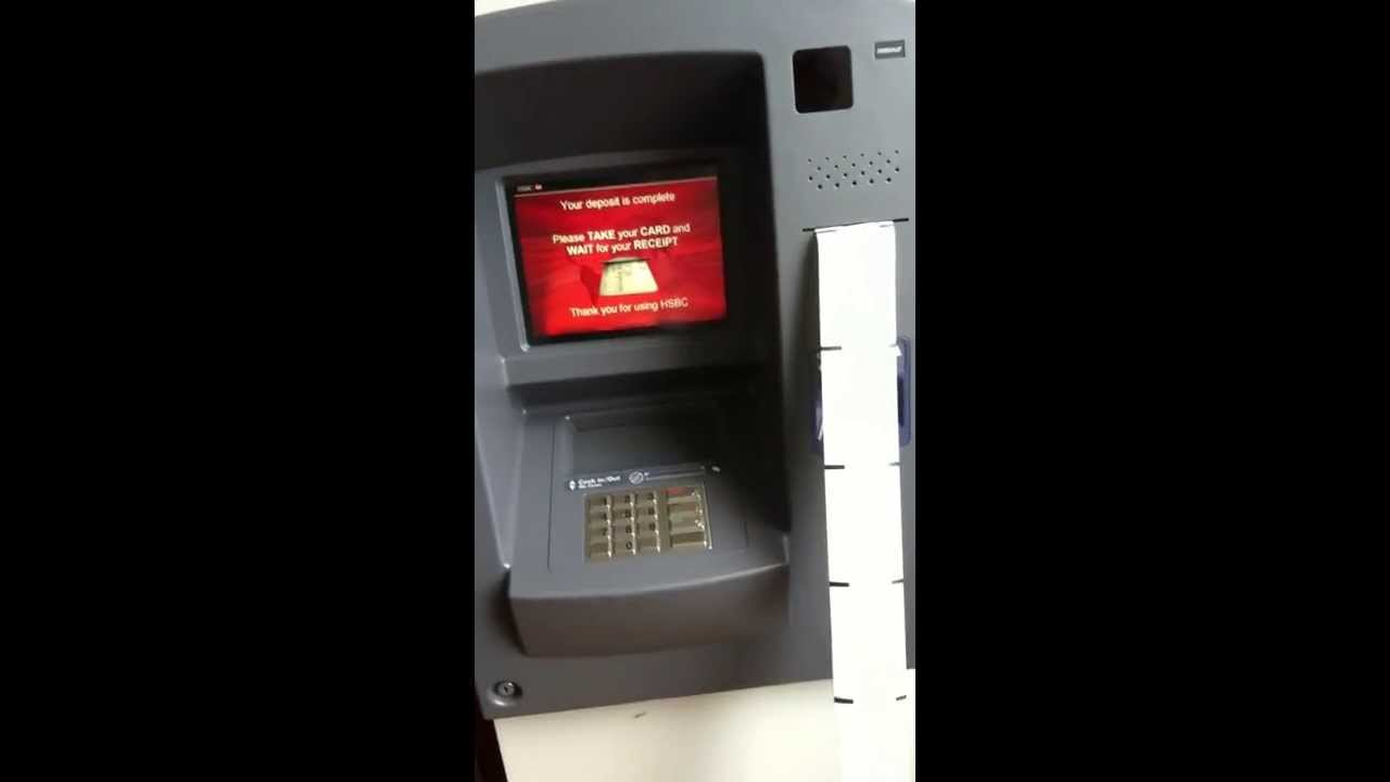 hsbc coin machine