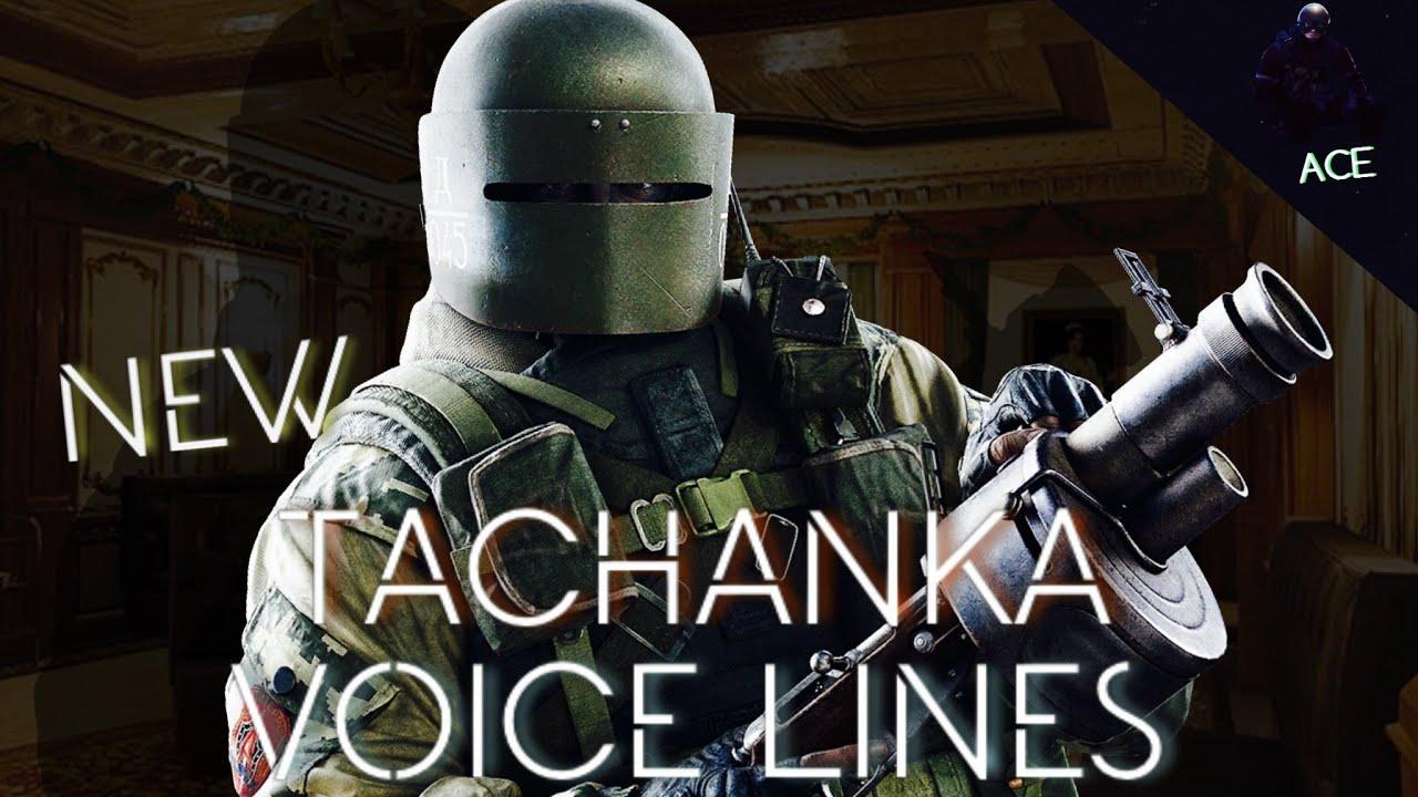 Rainbow Six Siege Goyo voice lines R6sClub - YouTube