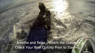 Rescue Water Craft Surf Passages Recovery in Training - K38