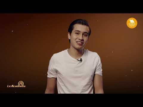 Gibrán quiere cumplir su sueño en La Academia! | La Academia