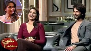 Shahid Kapoor INSULTS Kareena Kapoor on Koffee With Karan 2nd February 2014 Episode