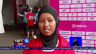 Indonesia Kembali Dapat Medali Emas Evi Tiarani Berhasil Kalahkan 2 Pelari Asal Jepang   NET12