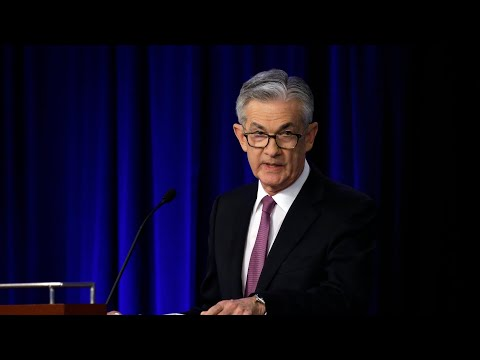 Fed chief Jerome Powell speaks after interest rate decision