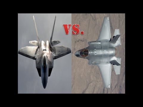 """The F-22 Raptor Vs. The F-35 Lightning II """"The Battle Of Fifth Gen Continues"""""""
