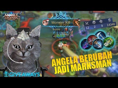 META BARU ANGELA BUILD MM SADIS BANGET GAX ADA OBATNYA! (Mobile Legends) + Skin Giveaways
