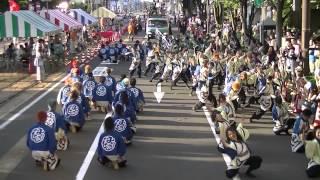 福井大学よっしゃこい2013年度演舞「夢光咲」 本祭であるフェニックス祭...
