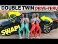 Double TWIN SWAP Drive Thru Prank Ft The MERRELL TWINS!