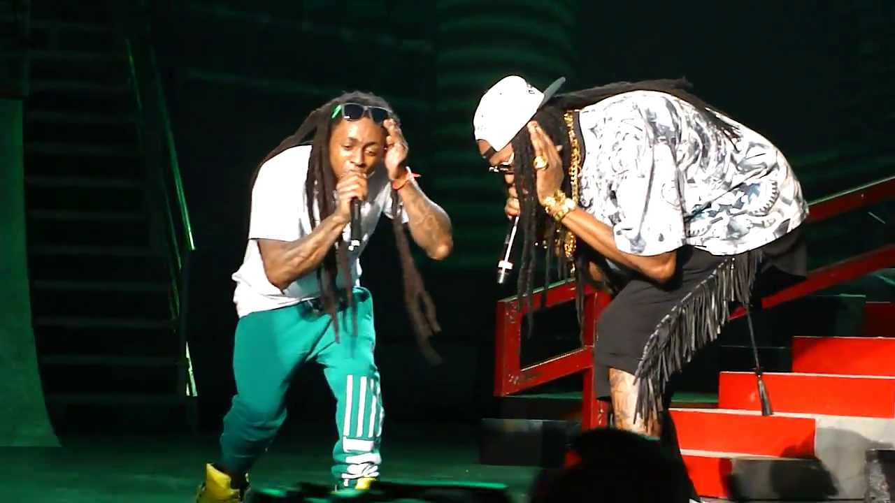 Lil Wayne 2 Chainz Performs Duffle Bag Boy Live Amw Sleep Train Pavilion Concord Hd You