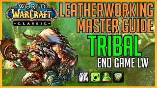 Classic Vanilla WoW Professions | Tribal Leatherworking: Master Guide Leatherworking