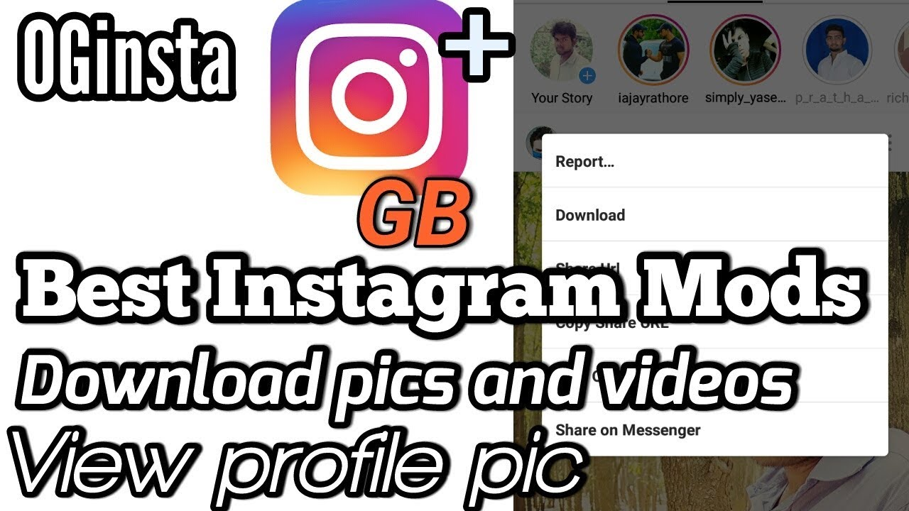 Top 3 Instagram mod apk | best instagram mod apk ever 2018 [black mod]  Download Link 2018