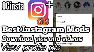 Gambar cover Top 3 Instagram mod apk | best instagram mod apk ever 2018 [black mod] Download Link 2018|| 2019
