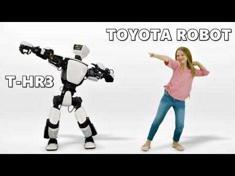 Toyota THR3 Humanoid Robot