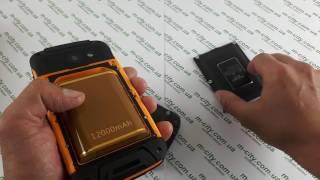 Купить на 120 MAh Защищенный Смартфон Jeep F605 Pro Black и его Детальный Видео Mega Power. Какой Купить Джип