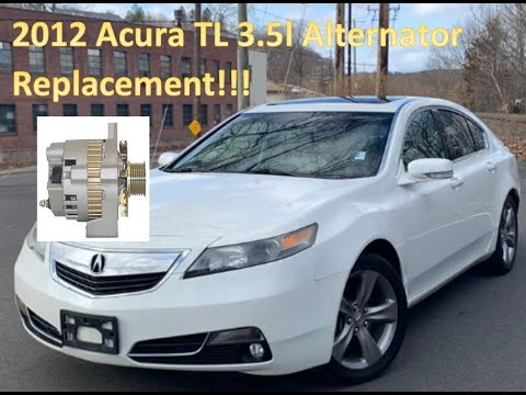 2012 (4th Gen) Acura TL Alternator Replacement – Squeaky Noise