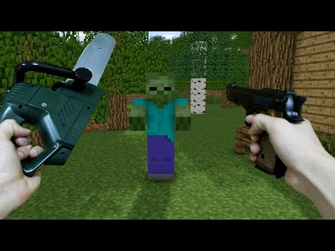 Thumbnail: REALISTIC MINECRAFT ~ ZOMBIE ATTACK