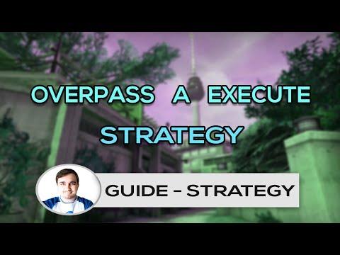 Overpass A Execute Strategy | HSG CS:GO | Jimzor | ENG