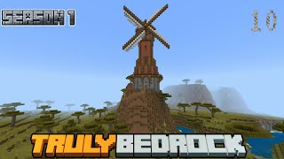 Truly Bedrock Episode 10: Helping the community, tizz, and the Windmill