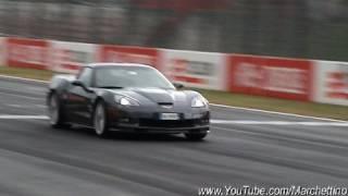 corvette zr1 sound start accelerations fly bys