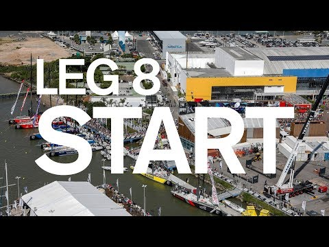 Leg 8 Start – Itajaí to Newport – Full Replay | Volvo Ocean Race
