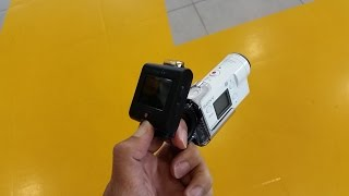 Hands on with NEW Sony FDR-X3000 Action Cam
