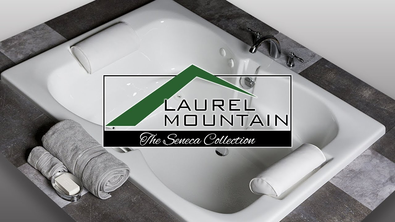 Laurel Mountain Seneca Deep Soaking Tub - YouTube