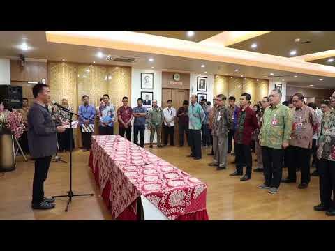 Video Penandatanganan Perjanjian Kinerja Eselon 1 dan 2 di lingkungan Kementerian Pemuda dan Olahrag