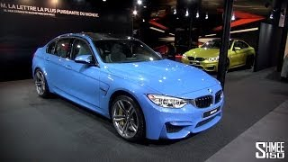 UP CLOSE: BMW M3 and M4 at Geneva 2014