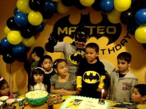 Teto Batman Party
