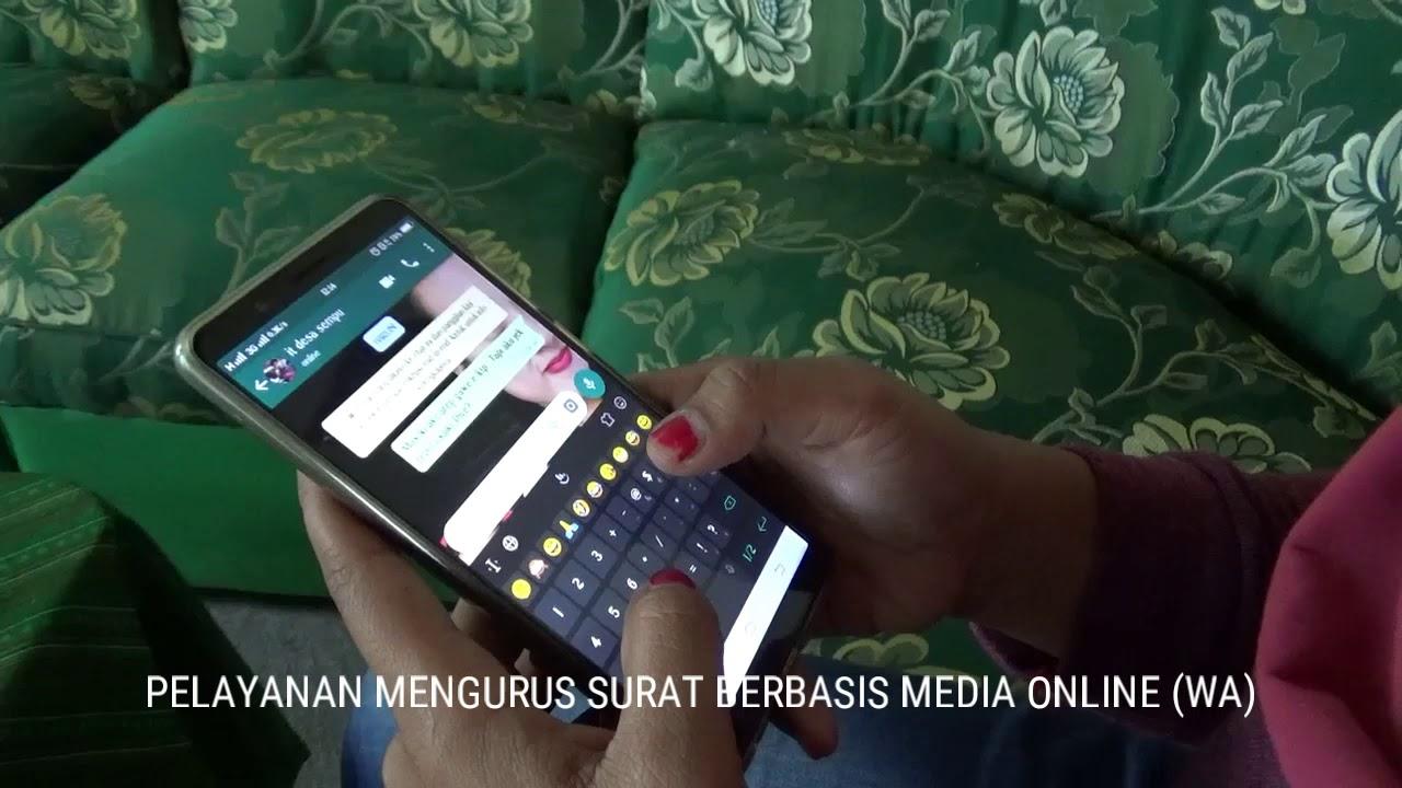 Mengurus Surat Menyurat Di Desa Berbasis Media Online Wa Desa Sempu Kecngancar Kabkediri