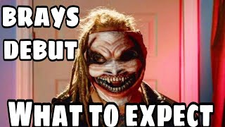BRAY WYATT DEBUT... What to expect?