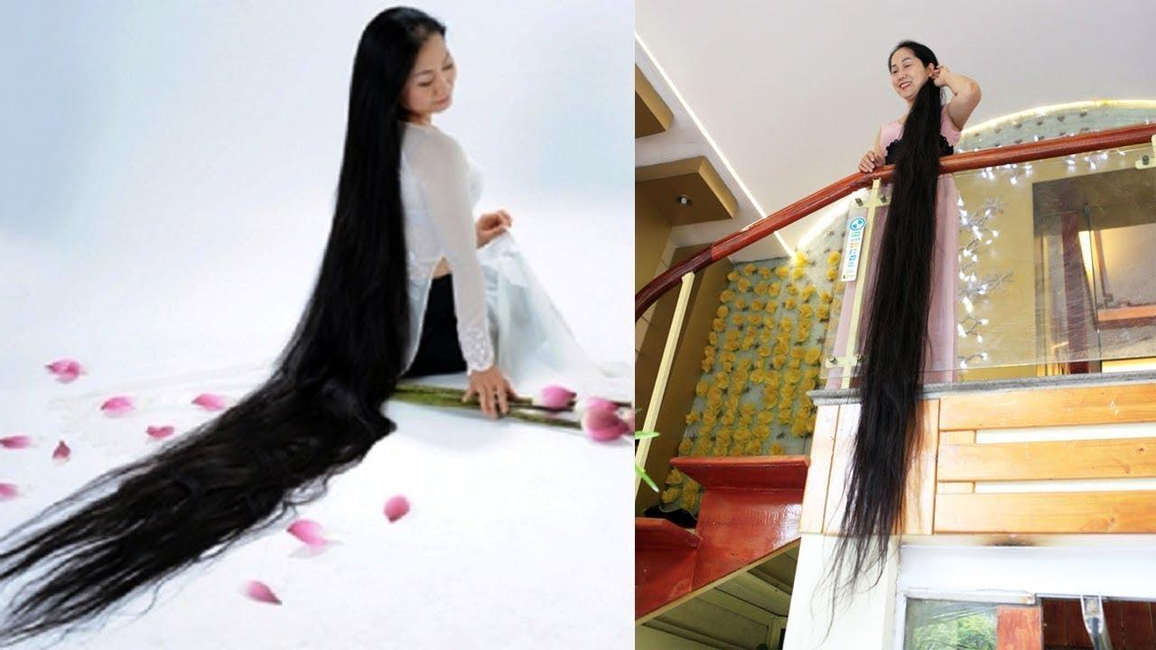Cuộc sống của người phụ nữ có mái tóc dài nhất Việt Nam  SPECIAL NEWS 24H | Bao quát các tài liệu về phụ nữ tóc dài chuẩn nhất