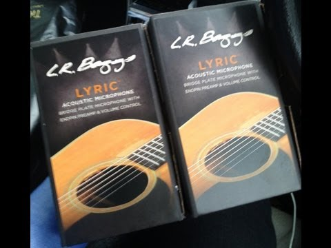 LR Baggs Lyric Pickup  DEMO 1 Review on the Martin HD28V in Singapore
