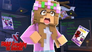 FREDDY IS BACK .... NIGHT #1 !!| Minecraft FNAF w/ Little Kelly (custom Roleplay)