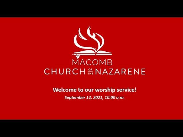 Sunday Morning Worship - September 12, 2021