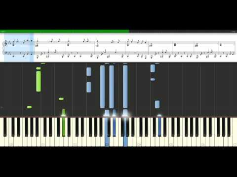 Bob Sinclar - The beat goes on [Piano Tutorial] Synthesia
