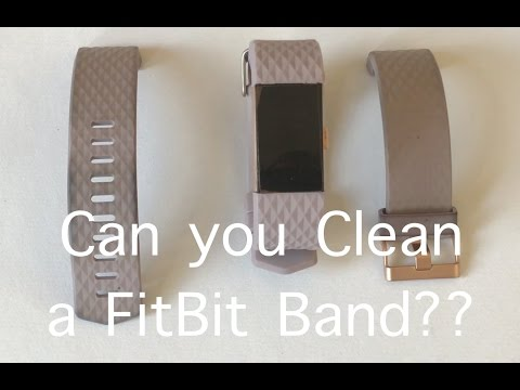 How to clean fitbit versa special edition band