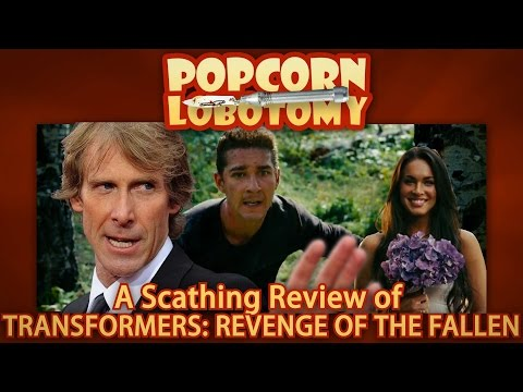 Transformers: Revenge of the Fallen - A Popcorn Lobotomy Scathing Review streaming vf