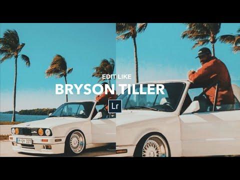 Edit Like BRYSON TILLER + Lightroom Mobile Preset DNG File