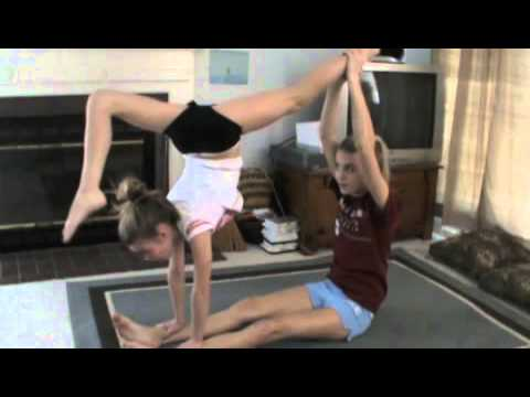 two person acro stunts 2  youtube