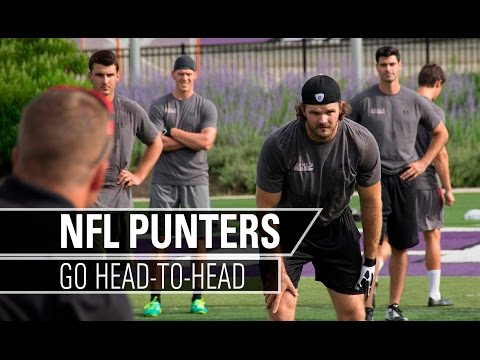 NFL Punters Compete Head-To-Head | Kohl