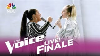 Miley Cyrus & Brooke Simpson - Wrecking Ball (Live on The Voice 2017) HD