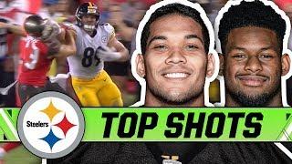 McDonald's Stiff-Arm, Haden's Pick, JuJu's 97-yarder, Conner's Insane October   Steelers Top Shots