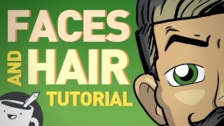 How to Draw Faces and Hair
