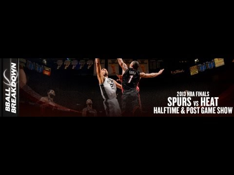 2013 NBA Finals Game 6 Halftime And Post Game Show: #Spurs at #Heat - YouTube