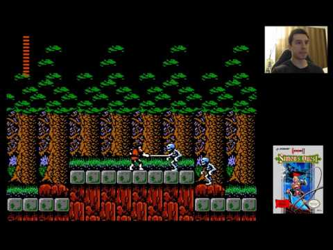 Castlevania 2 (1987) for NES - 1/6 - Berkeley Mansion